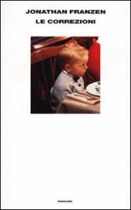 """copertina romanzo """"Le correzioni"""" di J. Franzen"""